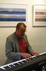 Reinhard Bohse, Ausstellungseröffnung, Hiddensee 2017